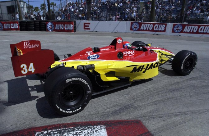 Justin Wilson en Long Beach, en 2004 (FOTO: Archivo)