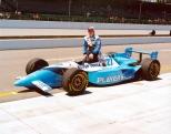 """Jacques Villeneuve también sumó cinco victorias en dos temporadas, pero fue la de las """"500 Millas de Indianapolis"""" de 1995 la que catapultó su carrera (FOTO: IMS Photo)"""