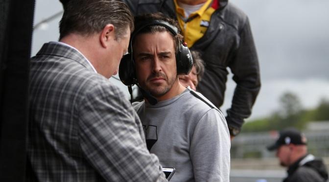 """Alonso tomará la experiencia en Indy """"día por día"""""""