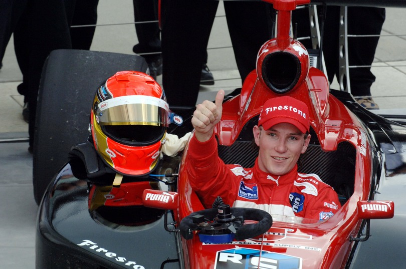 Wade Cunningham no solo se caracterizó por ser campeón en 2005 y ganar 8 eventos, sino que tiene la mayor cifra de podiums (30, entre 2005 y 2010). FOTO: Jim Haines/INDYCAR