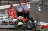 Sam Hornish Jr. (FOTO: Indianapolis Motor Speedway)