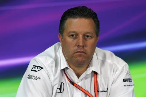 Zak Brown (FOTO: Archivo)