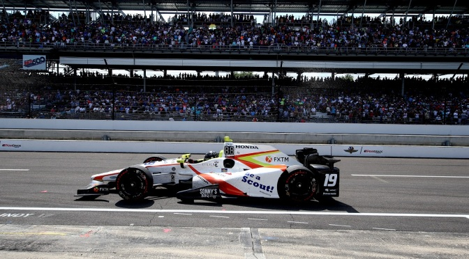 Jones (FOTO: Chris Jones/INDYCAR)