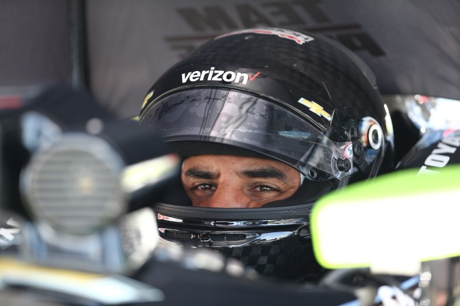 Montoya (FOTO: Chris Jones/INDYCAR)