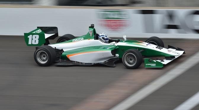 Kaiser larga en punta para la carrera 2 de Lights