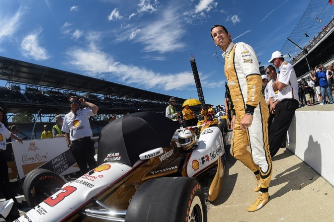 Castroneves (FOTO: Chris Owens/INDYCAR)