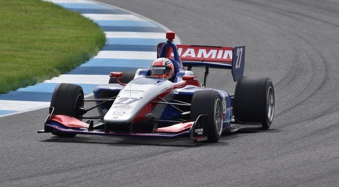 Jamin gana y aprieta la Indy Lights