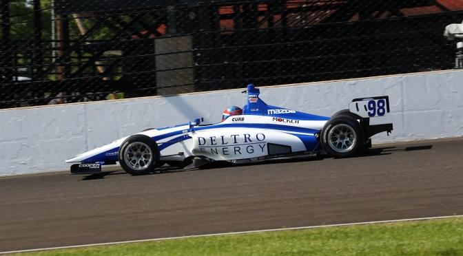 Andretti y Carlin encabezan test en el Brickyard