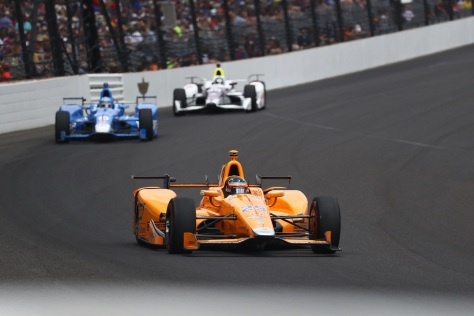 Alonso (FOTO: Bret Kelley/INDYCAR)