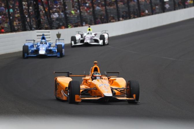 Alonso se ganó el corazón de Indianapolis