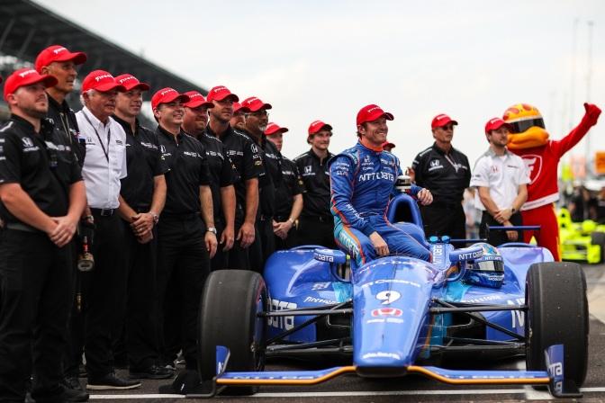 Tercera pole de Dixon en la Indy 500