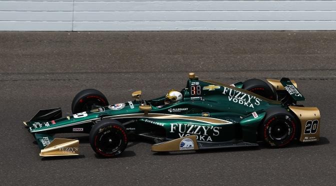Carpenter sorprende a los Honda en Día 1 de clasificación