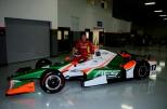 Sebastián Saavedra, piloto del monoplaza No. 17 de Juncos Racing, el cual tiene auspicio de AFS Racing (FOTO: Eric Schwartzkopf)
