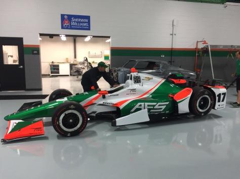 El auto de Saavedra (FOTO: Juncos Racing)