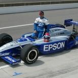 Luego de ganar dos eventos de Indy Lights en 1998, Shigeaki Hattori sumó 34 arranques en CART e IRL durante los siguientes cinco años; no concluyó ninguna de sus dos apariciones en Indy 500. Hoy, es propietario en NASCAR (FOTO: IndyCar)