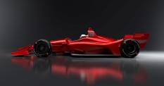 Imagen lateral del chassis para circuitos mixtos/óvalos cortos (FOTO: INDYCAR)