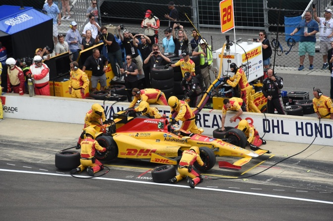 Hunter-Reay (FOTO: Jim Haines/INDYCAR)