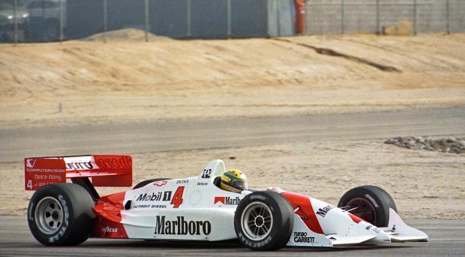 El día que Ayrton Senna probó un IndyCar