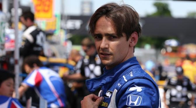 El primer día de Gutiérrez en la IndyCar