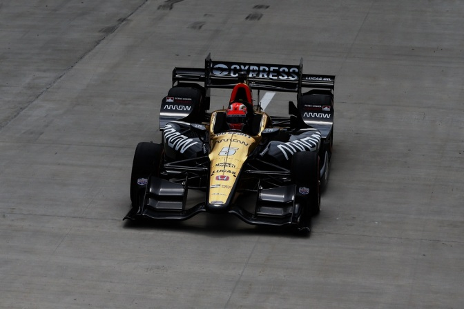 Hinchcliffe (FOTO: Chris Jones/INDYCAR)