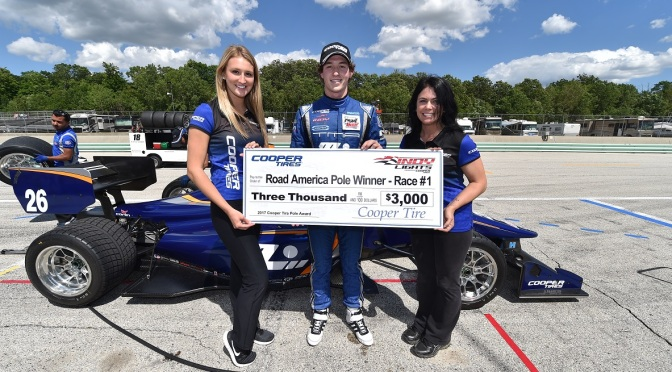 Suma Leist nueva pole en Indy Lights