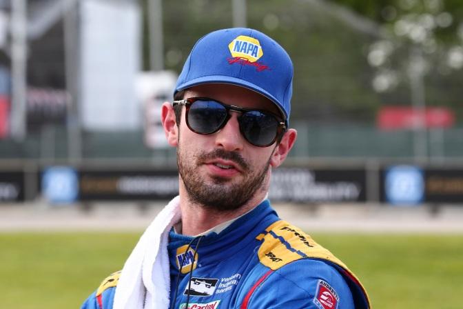 Rossi (FOTO: Bret Kelley/INDYCAR)