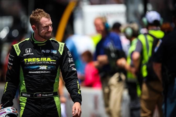 Primera pole de Kimball en IndyCar