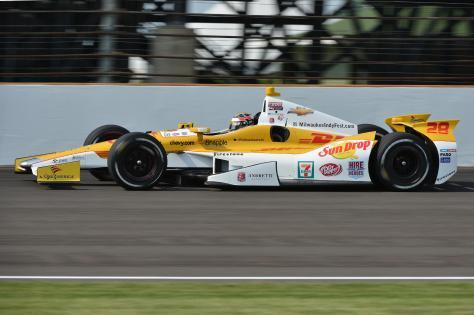 Hunter-Reay ganó su campeonato de 2012 con Chevrolet (FOTO: Archivo)