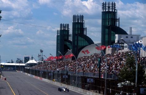 """Michael Andretti es el """"rey"""" de las calles de Toronto."""