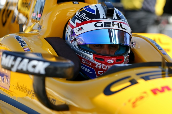 Rahal (FOTO: Chris Jones/INDYCAR)