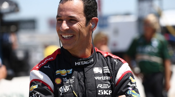Castroneves (FOTO: Chris Jones/INDYCAR)