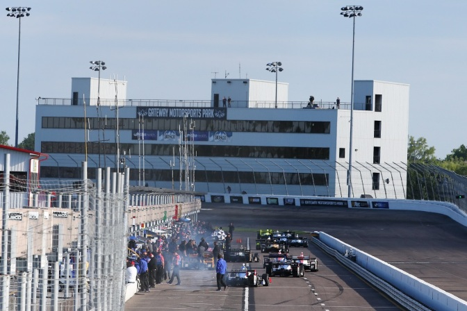 Gateway (FOTO: Chris Jones/INDYCAR)