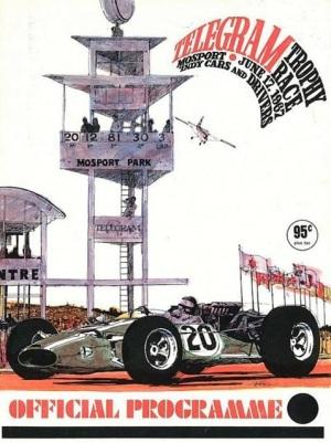 Programa oficial de la primera carrera de USAC en Mosport (FOTO: Canadian Tire Motorsport Park)