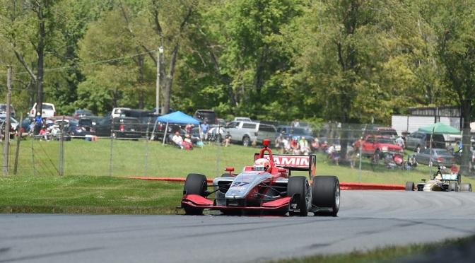Jamin gana Carrera 2; se aprieta lucha en Indy Lights