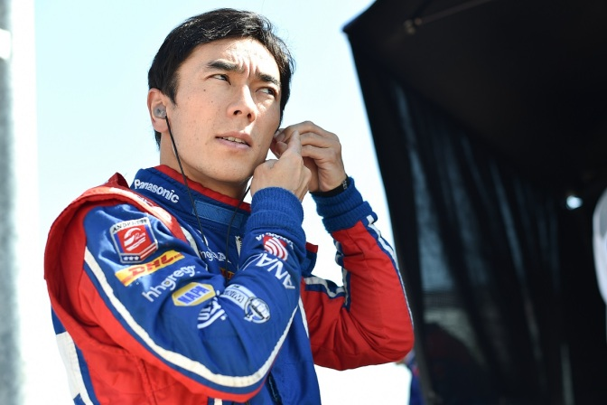 Sato (FOTO: Chris Jones/INDYCAR)