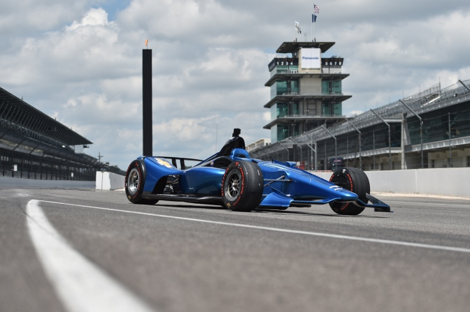 Dallara 2018 (FOTO: Chris Owens/INDYCAR)