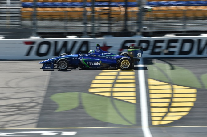 De Melo (FOTO: Chris Owens/IMS Photo/Road to Indy)