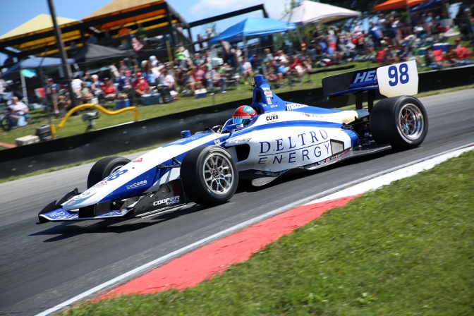 Lights: Herta en la pole para la segunda carrera