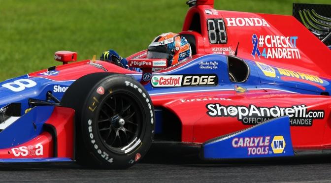 IndyCar: Rossi lidera la última práctica