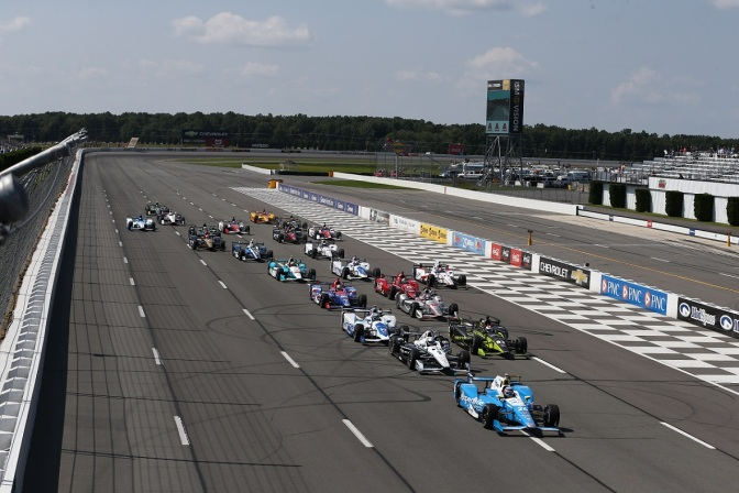 Pocono (FOTO: Chris Jones/INDYCAR)