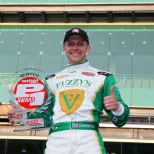 """Entre los logros de Carpenter también se destaca la obtención de la pole para las """"500 Millas de Indianapolis"""" en años consecutivos (2013-2014); finalizó décimo en la edición de 2013 (FOTO: Chris Jones/INDYCAR)"""