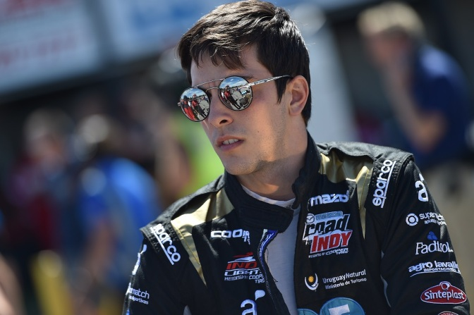 Urrutia comanda práctica de Indy Lights en Gateway