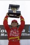 La única victoria de Alex Zanardi en óvalos cortos llegó en St. Louis, en 1998 con Chip Ganassi Racing, remontando de 11° para liderar las últimas 61 vueltas del evento (FOTO: Getty)