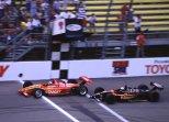 Michael Andretti y Scott Goodyear fueron los únicos en lograr dos victorias en la Michigan 500, que vio celebrar a volantes como André Ribeiro, Tony Kanaan y Juan Pablo Montoya (FOTO: Archivo)