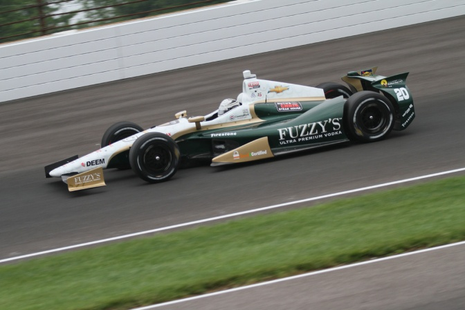 GALERÍA: 100 carreras para Ed Carpenter Racing