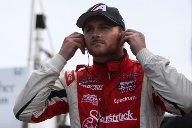 Blackstock sorprende en práctica de Indy Lights