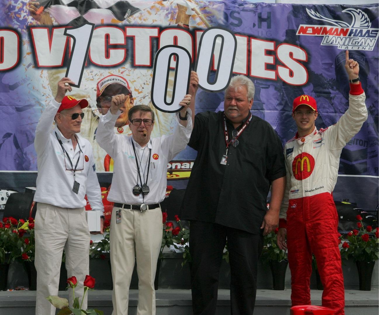 Sébastien Bourdais es el hombre más reciente en ganar en esta pista; en 2007, le dio a Newman-Haas Racing su victoria No. 100 (FOTO: Archivo)