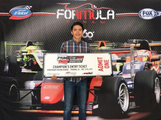 Formula PANAM envía a Cabrera para Shootout