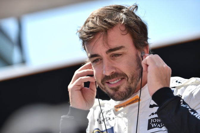 Alonso (FOTO: Chris Owens/INDYCAR)