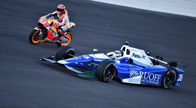 Sato y el Trofeo Borg Warner visitaron Motegi